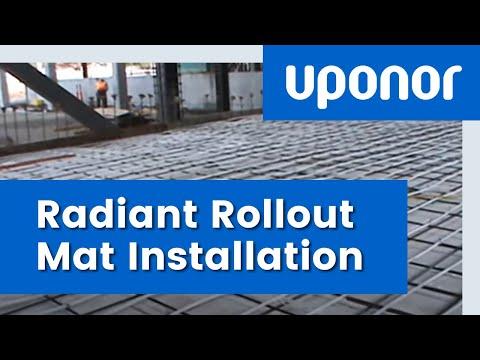 University Radiant Rollout Mat Installation - Case Study