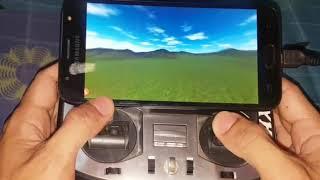 SIMULATOR Drone Racing di android freerider fpv + remot JUMPER T8SG