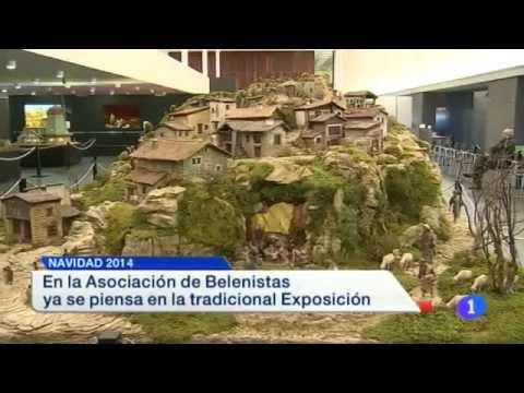Belenes en Agosto. Informativo TVE Navarra 21/08/2014