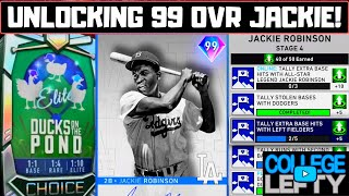 How to Unlock 99 Ovr Signature Series Jackie Robinson!! Stage 4 Complete in MLB The Show 20!