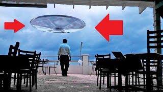 НЛО десант над Грецией - видео очевидцев 2017 HD (UFO)