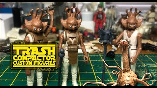 Custom Star Wars Figures - Mongo Beefhead Tribesman (Full Version) tutorial - Trash Compactor