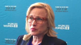 Oscar-winning Patricia Arquette joins UN Equal Pay Champions