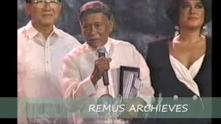 Levi Celerio 1991 Lifetime Achievement Award