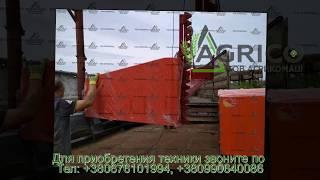 Приставка для уборки рапса ПЗР на Джон Дир, Кейс от компании Агрикомаш ООО - видео