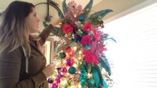How To Make A Christmas Tree Topper