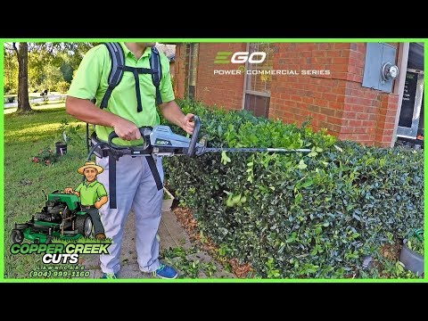 Does EGO's 56V Commercial Hedge Trimmer Cut Through The Gas Competition?