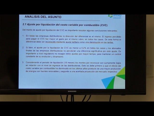 ARESEP explica propuesta de ajuste en tarifas eléctricas