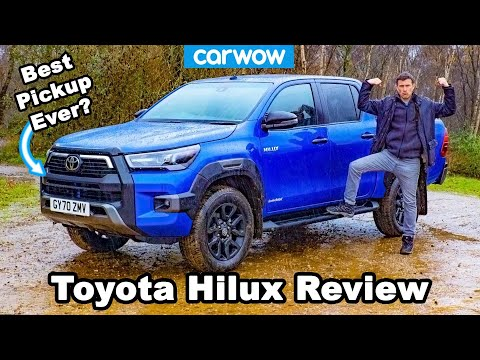 New Toyota Hilux 2021 review - the ULTIMATE pick-up truck!