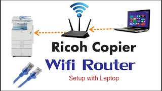 Ricoh Copier DHCP Wi-Fi Network Router Settings