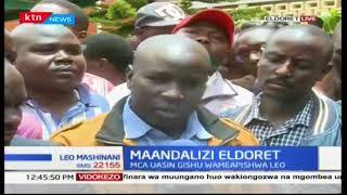 Wakaazi wa kaunti ya Uasin Gishu watoa maoni yao ya tarehe iliyo ratibiwa na tume la IEBC