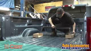 Curt Gooseneck Hitch   Installation
