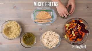 How To Prep A Week Of Mediterranean Lunches | EatingWell