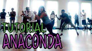 ANACONDA - Nicki Minaj Dance TUTORIAL   @MattSteffanina Choreography (How To Dance)