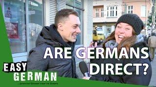 Are Germans direct? | Easy German 173 - dooclip.me
