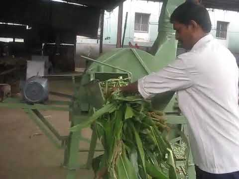 3 Blade Chaff Cutter Machine for Dairy Farms