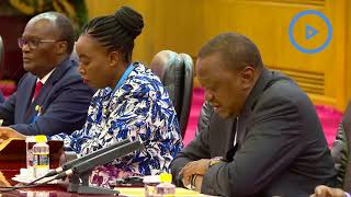 President Uhuru Kenyatta is in China for the second Belt and Road