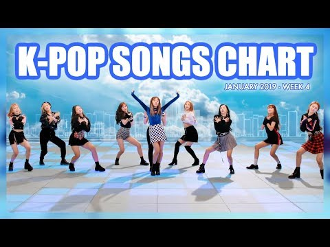 K-POP SONGS CHART | JANUARY 2019 (WEEK 4)