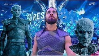 Night King Rollins - Wrestlemania 34 Entrance - Video Youtube