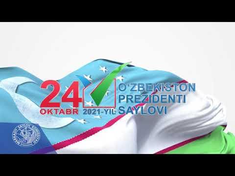 2021 йил 24 октябрь мамлакатимизда Президент сайлови бўлиб ўтади