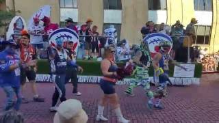 The PFUFA Float - 2016 Pro Football Hall of Fame Parade
