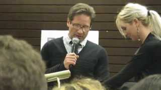 """David Duchovny Reading """"Holy Cow"""""""