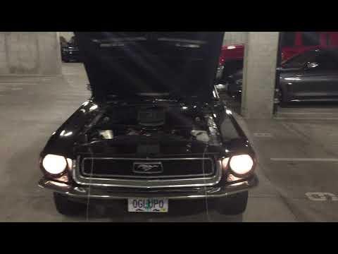 Video of '68 mustang fastback J type - KDEC