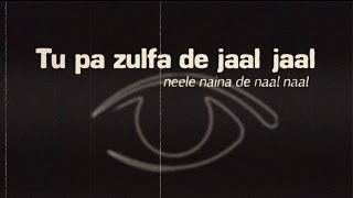JAZ DHAMI - ZULFA LYRIC VIDEO (NO RAP)