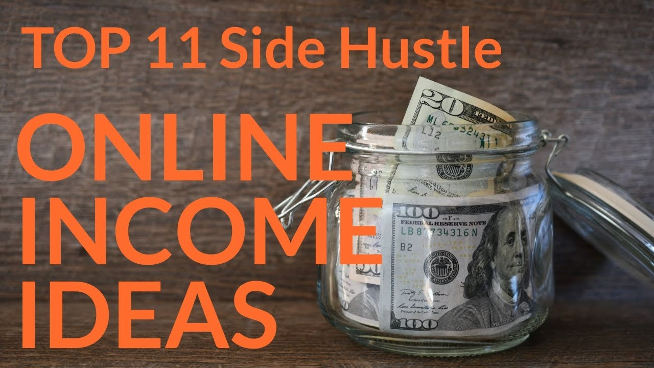 Leading 11 side hustle earnings concepts to generate income online 2021-begin financial obligation totally free journey #onlineincome 2021 thumbnail