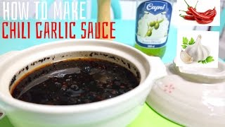 How To Make Chili Garlic Sauce