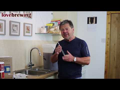 Beginners Beer Brewing Part 2 - Making & Fermenting - The Hops