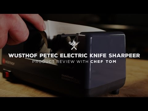 Wüsthof PETec Electric Knife Sharpener | Product Roundup by All Things Barbecue