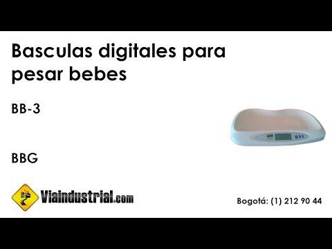 Basculas digitales para pesar bebes BB-3