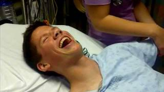 Funniest reaction to hospital drugs for a broken arm
