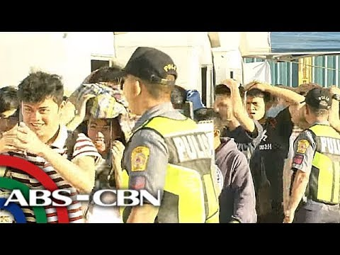 [ABS-CBN]  Earthquake drill isinagawa sa mall sa QC