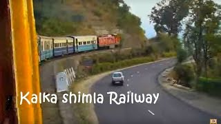 The Kalka-Shimla train