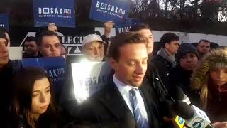 Krzysztof Bosak (Konfederacja): Prezydent Andrzej Duda nie różni się od Bronisława Komorowskiego!