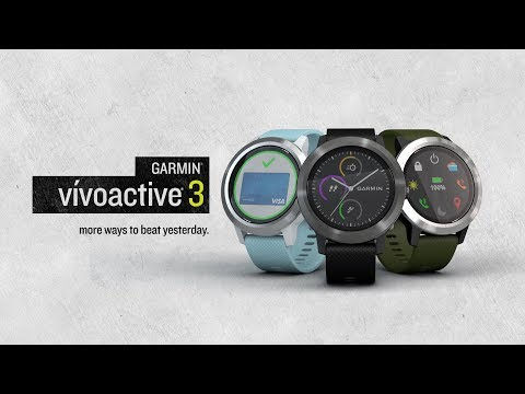 Garmin vívoactive 3: The Smartwatch That Lets You Pay and Play