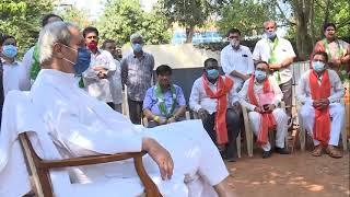 High drama at Naveen Nivas, CM invites protesting BJP MLAs for talks