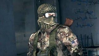 Gulf War in Iraq: Victor Coste Rescues Captured Sam Fisher (Splinter Cell: Conviction. Diwaniya)