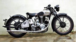 Norton ES2 1934 | Pure Sound & Start Up by Jaume Soler