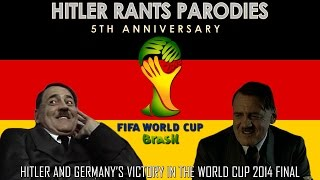 Hitler and Germany's victory in the World Cup 2014 Final