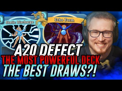 The Most Powerful Deck AND The Best Draws?! | Ascension 20 Defect Run | Slay the Spire
