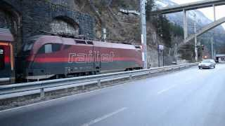 preview picture of video 'Imst/Pitztal Bahnhof'