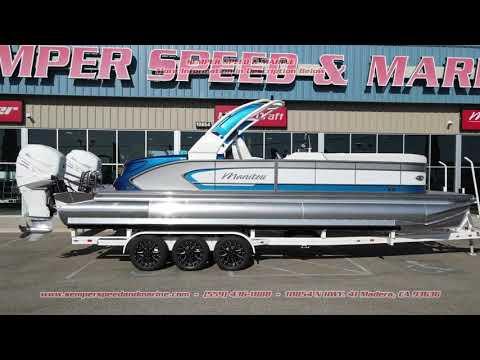 2021 Manitou 27 LX RFX Dual Engine in Madera, California - Video 1