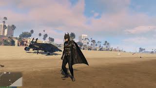 GTA 5 Batman Mod - Siêu Người Dơi đã xuất hiện trong GTA 5