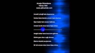 """""""Sertab Erener"""" Bir Tek Annem Olsun Altyapı Karaoke (Cover) Y.HAK"""