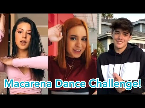Macarena Challenge! Tik Tok Edition!