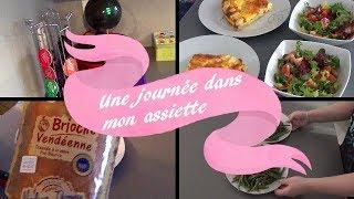 *Une Journée Dans Mon Assiette* #1 ~ Maman Lambda , Repas Sans ChiChi  !