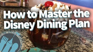 SAVE MONEY In Disney World With These Disney Dining Plan Tips